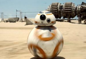 スターウォーズのボール型ドロイドBB-8実物が存在!しかもミニチュア版購入可能!物理学的にどうなってるの!?