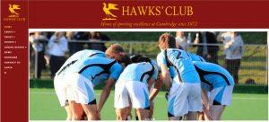 ケンブリッジ大学体育会・ホークスクラブ【Hawks' Club】
